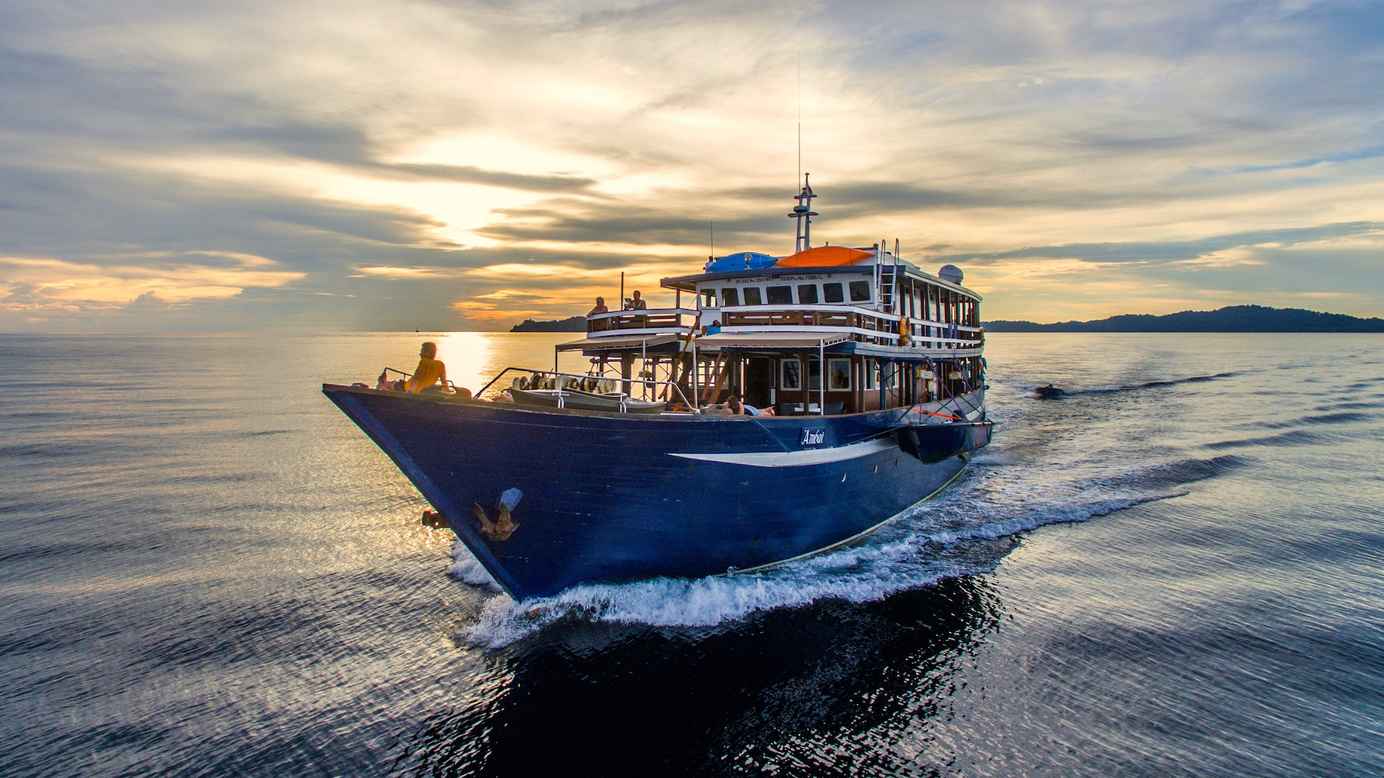 Best boat to cruise with in Raja Ampat
